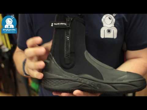 Fourth Element Amphibian 6.5mm Boot – www.simplyscuba.com
