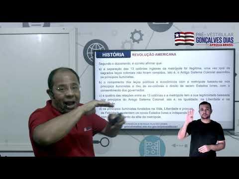 Aula 04 | Revolução Americana - Parte 03 de 03 - Exercícios Resolvido - História