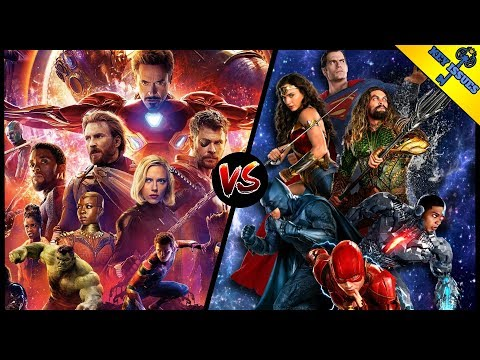 The Avengers vs The Justice League   MCU vs DCEU