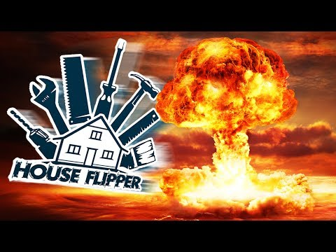 Flipping the Fallout Shelter For Grandma! - Home Renovation Simulator - House Flipper Gameplay