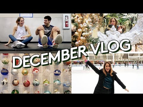 NYC Holiday Adventures With Michael | Lucie Fink Vlogs | Refinery29