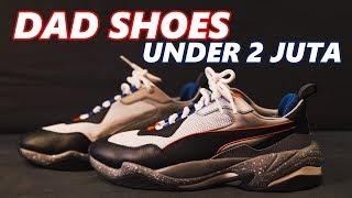 ALTERNATIF DAD SHOES UNDER 2 JUTA | Puma Thunder Electric Review Video thumbnail