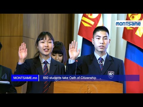 850 students take Oath of Citizenship