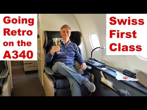 Going Retro on the A340 – SWISS First Class
