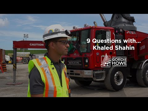 9 Questions with Khaled Shahin, Bridge Structural Engineer