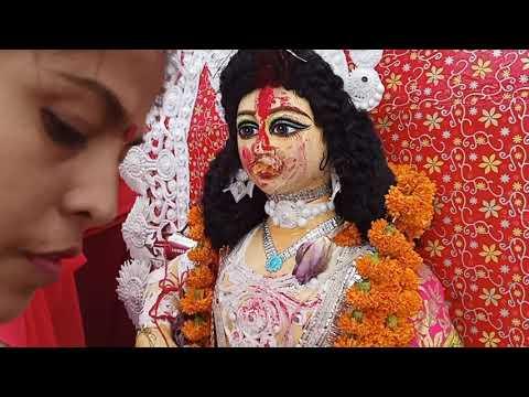 Happy Dashami (sindur khela , Thakur boron ) Ahmedabad Durga Puja - MithuMitra