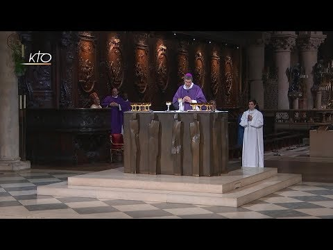 Messe du 16 mars 2018 avec l'AED (Aide à l'Eglise en détresse)