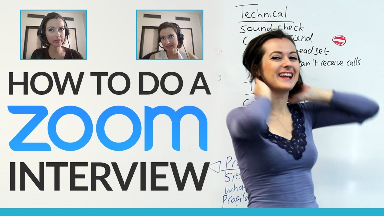 How To Do A Job Interview On Skype · EngVid