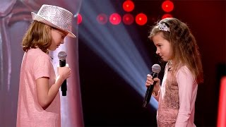 Natasha & Charlise - 'Je Veux' | Blind Auditions | The Voice Kids | VTM