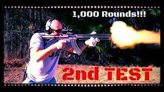 ANOTHER CMMG MK47 Mutant AK AR Hybrid 1000 Round Torture Test HD