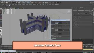 Procedural Modelling Of Gothic Architecture