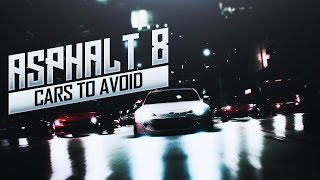 Cars You Should Never Buy in Asphalt 8