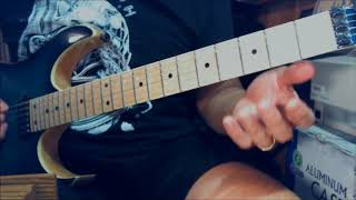 Dokken / George Lynch - Sleepless Nights - Guitar Lesson (All rhythm)