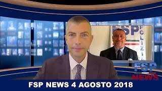 FSP News del 4 agosto 2018