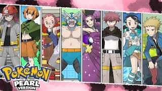 All Gym Leader Battles | Pokemon Diamond/Pearl