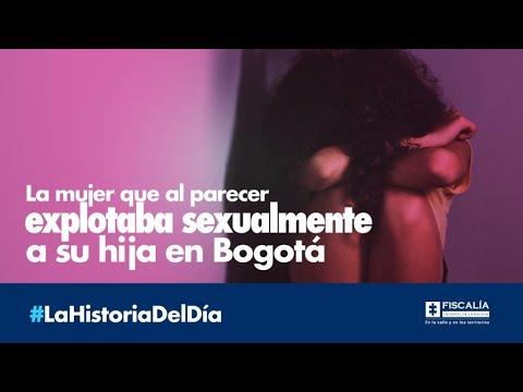 La mujer que al parecer explotaba sexualmente a su hija en Bogotá