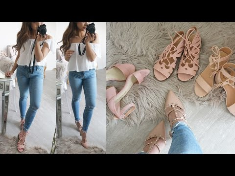 Affordable Shoes & Jewelry Haul for Spring! | Charmaine Dulak