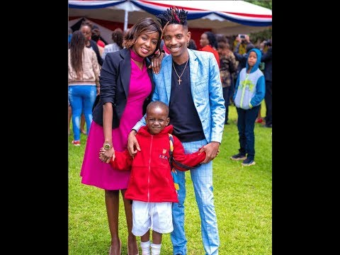 The Big Scoop : Eric Omondi shares first picture with family |  Jacque Maribe and Son