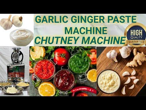 Chutney Making Machine Or Chatni Machine
