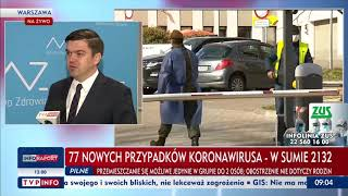 Wojciech Andrusiewicz – rzecznik Ministerstwa Zdrowia