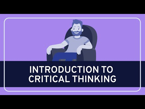 A thumbnail for: Critical thinking