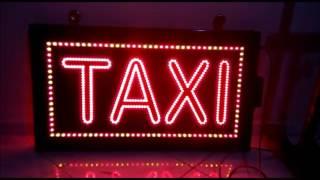 Led Taksi Tabelası