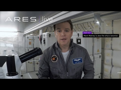 The Martian (Viral Video 'Ares 3: Farewell')