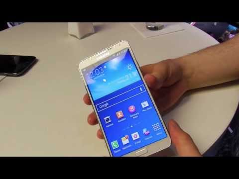 Youtube Video Samsung Galaxy Note 3 N9005 32GB in schwarz