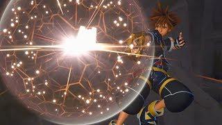 Kingdom Hearts III Gameplay - Hercules' Titan Boss Fight
