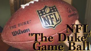 "NFL ""The Duke"" Game Ball"