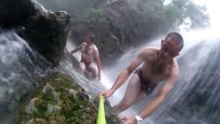 водопады пещерки Кемеровской области