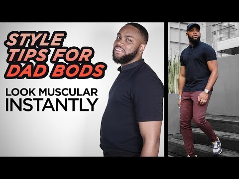 Style Tips To Make Chubby Guys Look More MUSCULAR 💪 | 3 Clothing Tricks | StyleOnDeck