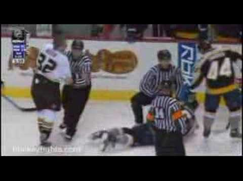 Shea Weber vs. Travis Moen