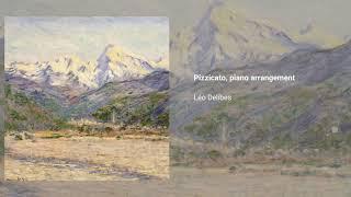 'Pizzicato' from Sylvia, piano arr.