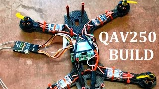 QAV250 FPV Quadcopter Build. Mystery 12A ESC EMax 1806 2280kv Motors KK2
