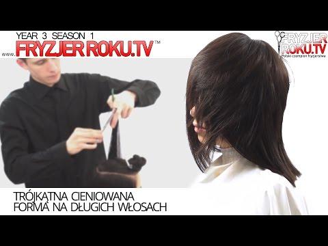 Maska leczniczy dla wzmocnienia włosów