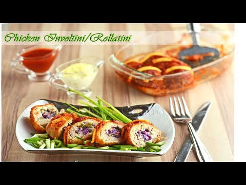 Chicken Rollatini/Cooking Recipe : Chef Sokphal/Italian Recipe
