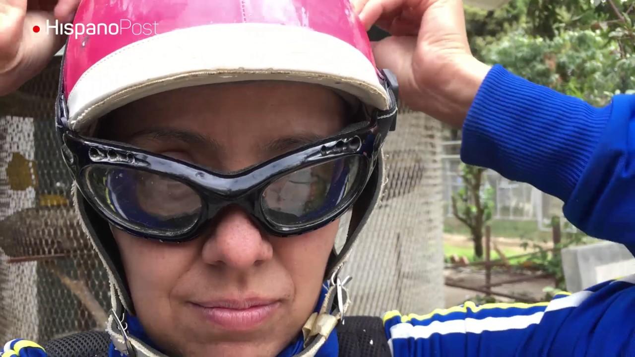 María Bruzual: la única jocketa en Venezuela