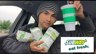 ME EATING SUBWAY MUKBANG - Video Youtube