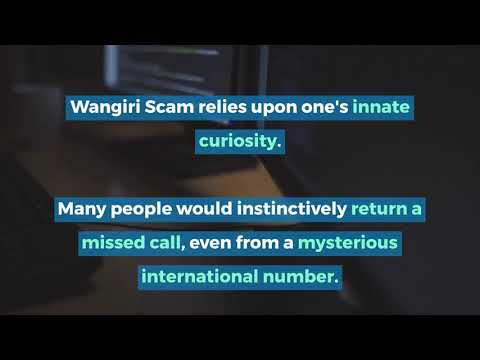 Wangiri Fraud: What to do when a strange foreign number calls you