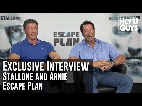 Sylvester Stallone and Arnold Schwarzenegger Exclusive Interview - Escape Plan