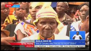 KTN Prime: CORD Leader Raila Odinga critics Jubilee on Kerio Valley security issues, 8/11/16