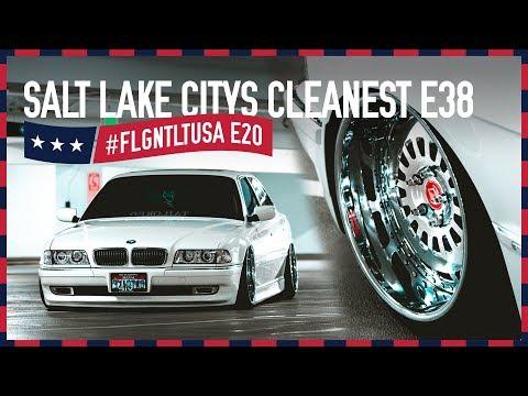 Salt Lake Citys Cleanest | BMW E38 740iL auf VIP Modular Felgen | FLGNTLT USA E20