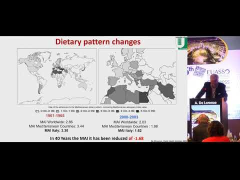 A. De Lorenzo - The influence of diet on anti-cancer immune responsiveness