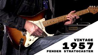 Vintage 1957 Fender Stratocaster  •  Wildwood Guitars