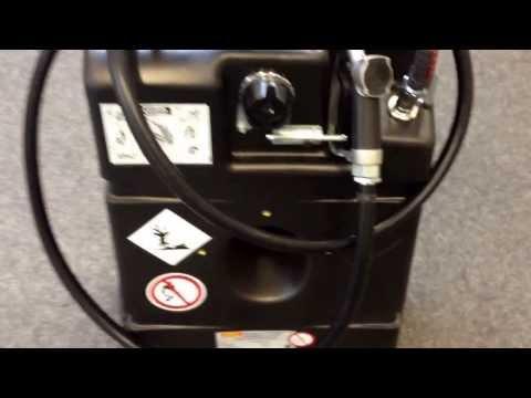 Cemo Kraftstofftrolley 95 L. 10162 Kraftstoff Trolley für Benzin
