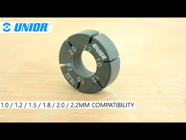 Видео Ключ для спиц Unior Tools 1-2.2mm Flat Spoke Holder