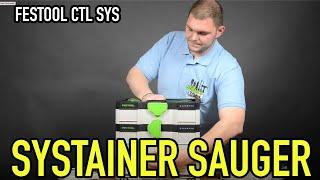 Festool SYSTAINER-Sauger CTL SYS - Produkte erklärt - Mikes Toolshop
