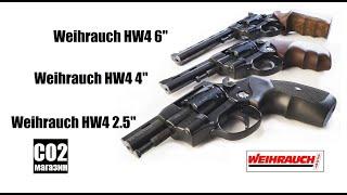 """Револьвер Weihrauch HW4 2.5"""""""" с пластиковой рукоятью от компании CO2 - магазин оружия без разрешения - видео 1"""