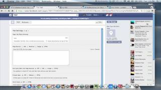 Adding Facebook, Twitter & LinkedIn Buttons on My Facebook Page : Advanced Social Media Skills